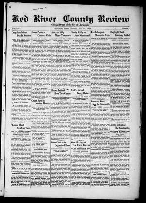 Red River County Review (Clarksville, Tex.), Vol. 6, No. 2, Ed. 1 Thursday, June 10, 1926