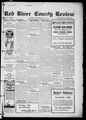 Red River County Review (Clarksville, Tex.), Vol. 4, No. 83, Ed. 1 Friday, March 13, 1925