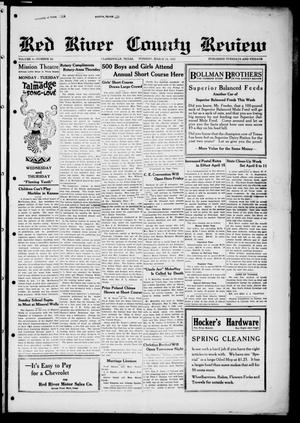 Red River County Review (Clarksville, Tex.), Vol. 4, No. 86, Ed. 1 Tuesday, March 24, 1925