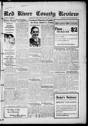 Red River County Review (Clarksville, Tex.), Vol. 4, No. 87, Ed. 1 Friday, March 27, 1925
