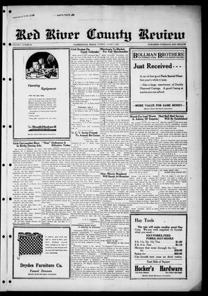 Primary view of object titled 'Red River County Review (Clarksville, Tex.), Vol. 5, No. 20, Ed. 1 Tuesday, August 4, 1925'.