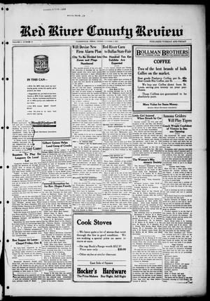 Primary view of object titled 'Red River County Review (Clarksville, Tex.), Vol. 5, No. 37, Ed. 1 Friday, October 2, 1925'.