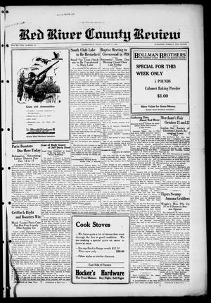 Primary view of object titled 'Red River County Review (Clarksville, Tex.), Vol. 5, No. 38, Ed. 1 Tuesday, October 6, 1925'.
