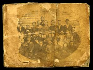 Primary view of object titled '[School Children in Palestine]'.