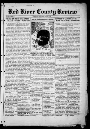 Red River County Review (Clarksville, Tex.), Vol. 5, No. 63, Ed. 1 Friday, January 1, 1926