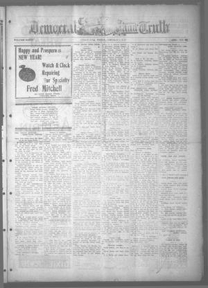 Primary view of object titled 'Corsicana Democrat and Truth (Corsicana, Tex.), Vol. 40, No. 45, Ed. 1 Thursday, January 6, 1927'.