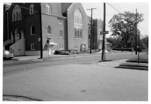 Primary view of object titled '[First Methodist Church - 422 S. Magnolia]'.