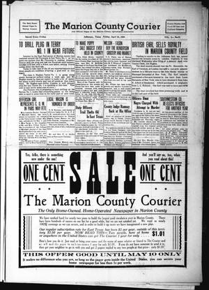 Primary view of object titled 'The Marion County Courier (Jefferson, Tex.), Vol. 2, No. 51, Ed. 1 Friday, April 28, 1939'.