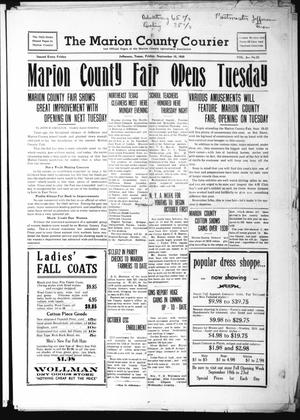 Primary view of object titled 'The Marion County Courier (Jefferson, Tex.), Vol. 3, No. 22, Ed. 1 Friday, September 15, 1939'.