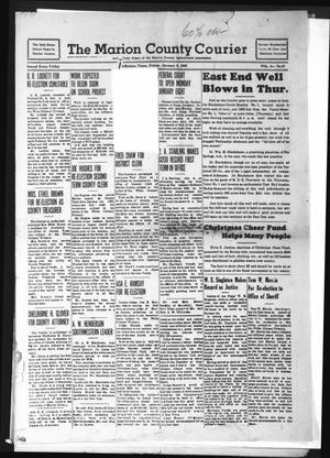 Primary view of object titled 'The Marion County Courier (Jefferson, Tex.), Vol. 3, No. 37, Ed. 1 Friday, January 5, 1940'.