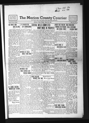 Primary view of object titled 'The Marion County Courier (Jefferson, Tex.), Vol. 3, No. 48, Ed. 1 Friday, March 22, 1940'.
