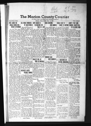 Primary view of object titled 'The Marion County Courier (Jefferson, Tex.), Vol. 4, No. 20, Ed. 1 Friday, September 6, 1940'.