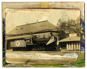 Primary view of object titled '[Fourth Liberty Loan Train]'.