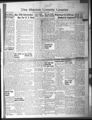 Primary view of object titled 'The Marion County Courier (Jefferson, Tex.), Vol. 4, No. 27, Ed. 1 Friday, October 25, 1940'.
