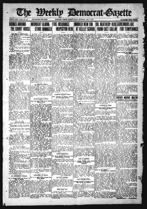 Primary view of object titled 'The Weekly Democrat-Gazette (McKinney, Tex.), Vol. 31, No. 48, Ed. 1 Thursday, January 7, 1915'.