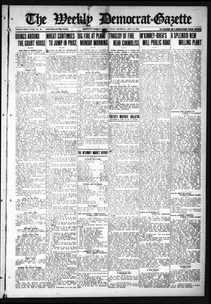 Primary view of object titled 'The Weekly Democrat-Gazette (McKinney, Tex.), Vol. 31, No. 49, Ed. 1 Thursday, January 14, 1915'.