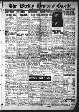 Primary view of object titled 'The Weekly Democrat-Gazette (McKinney, Tex.), Vol. 32, Ed. 1 Thursday, February 18, 1915'.