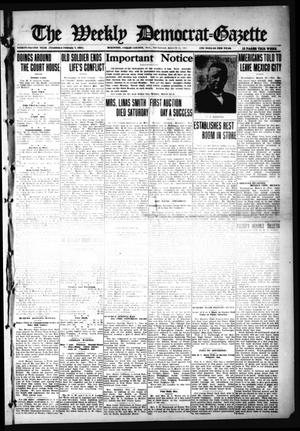 Primary view of object titled 'The Weekly Democrat-Gazette (McKinney, Tex.), Vol. 32, Ed. 1 Thursday, March 11, 1915'.