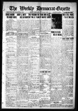 Primary view of object titled 'The Weekly Democrat-Gazette (McKinney, Tex.), Vol. 32, Ed. 1 Thursday, April 1, 1915'.