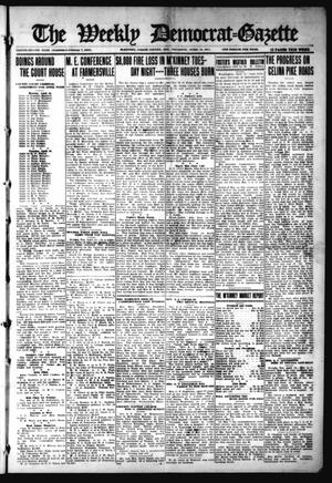 Primary view of object titled 'The Weekly Democrat-Gazette (McKinney, Tex.), Vol. 32, Ed. 1 Thursday, April 15, 1915'.