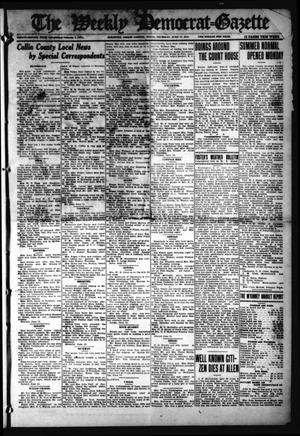 Primary view of object titled 'The Weekly Democrat-Gazette (McKinney, Tex.), Vol. 32, Ed. 1 Thursday, June 17, 1915'.