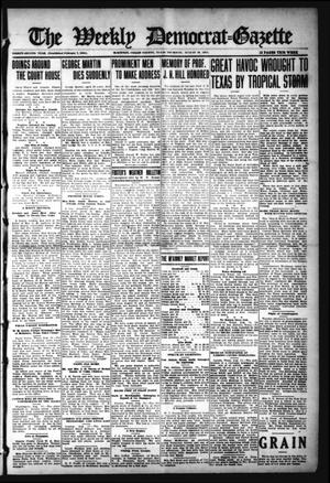 Primary view of object titled 'The Weekly Democrat-Gazette (McKinney, Tex.), Vol. 32, Ed. 1 Thursday, August 19, 1915'.