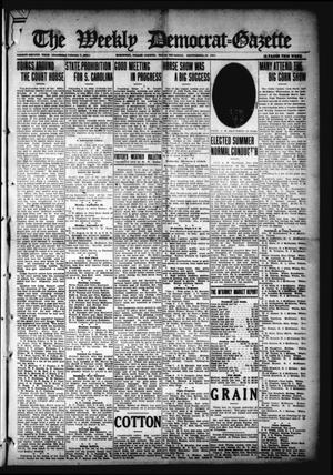 Primary view of object titled 'The Weekly Democrat-Gazette (McKinney, Tex.), Vol. 32, Ed. 1 Thursday, September 23, 1915'.