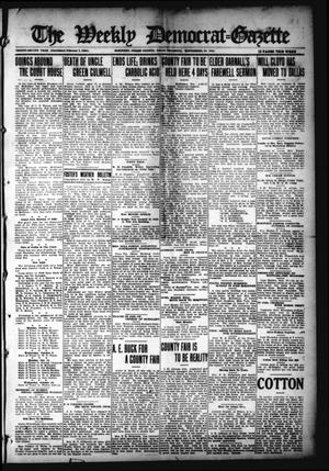 Primary view of object titled 'The Weekly Democrat-Gazette (McKinney, Tex.), Vol. 32, Ed. 1 Thursday, September 30, 1915'.