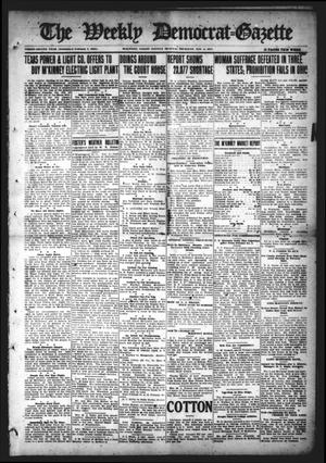 Primary view of object titled 'The Weekly Democrat-Gazette (McKinney, Tex.), Vol. 32, Ed. 1 Thursday, November 4, 1915'.