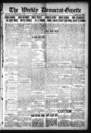 Primary view of object titled 'The Weekly Democrat-Gazette (McKinney, Tex.), Vol. 32, Ed. 1 Thursday, November 11, 1915'.