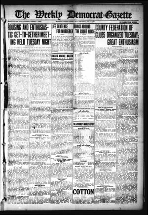Primary view of object titled 'The Weekly Democrat-Gazette (McKinney, Tex.), Vol. 32, Ed. 1 Thursday, November 18, 1915'.