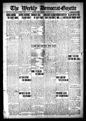 The Weekly Democrat-Gazette (McKinney, Tex.), Vol. 32, Ed. 1 Thursday, December 2, 1915