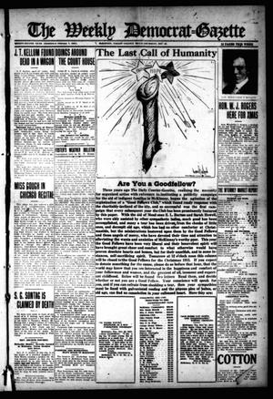 Primary view of object titled 'The Weekly Democrat-Gazette (McKinney, Tex.), Vol. 32, Ed. 1 Thursday, December 23, 1915'.