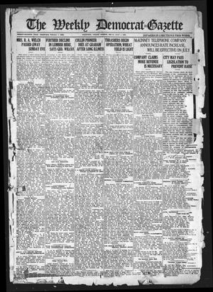 Primary view of object titled 'The Weekly Democrat-Gazette (McKinney, Tex.), Vol. 37, Ed. 1 Thursday, July 1, 1920'.