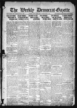 The Weekly Democrat-Gazette (McKinney, Tex.), Vol. 37, Ed. 1 Thursday, July 15, 1920