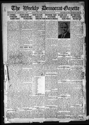 Primary view of object titled 'The Weekly Democrat-Gazette (McKinney, Tex.), Vol. 37, Ed. 1 Thursday, July 22, 1920'.