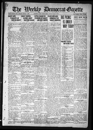 Primary view of object titled 'The Weekly Democrat-Gazette (McKinney, Tex.), Vol. 37, Ed. 1 Thursday, July 29, 1920'.