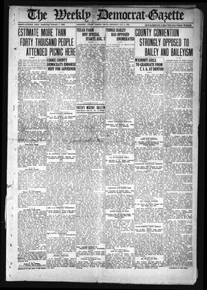 The Weekly Democrat-Gazette (McKinney, Tex.), Vol. 37, Ed. 1 Thursday, August 5, 1920