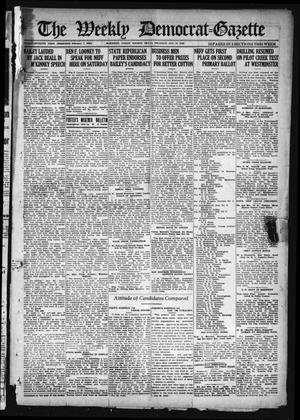 Primary view of object titled 'The Weekly Democrat-Gazette (McKinney, Tex.), Vol. 37, Ed. 1 Thursday, August 19, 1920'.
