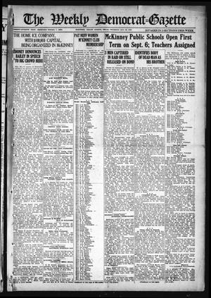 Primary view of object titled 'The Weekly Democrat-Gazette (McKinney, Tex.), Vol. 37, Ed. 1 Thursday, August 26, 1920'.