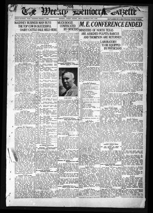Primary view of object titled 'The Weekly Democrat-Gazette (McKinney, Tex.), Vol. 37, Ed. 1 Thursday, November 4, 1920'.