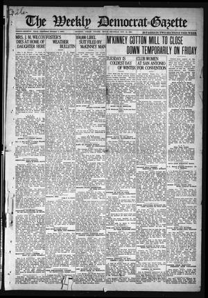 Primary view of object titled 'The Weekly Democrat-Gazette (McKinney, Tex.), Vol. 37, Ed. 1 Thursday, November 18, 1920'.