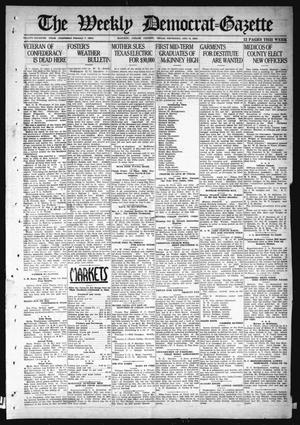 Primary view of object titled 'The Weekly Democrat-Gazette (McKinney, Tex.), Vol. 37, Ed. 1 Thursday, December 9, 1920'.