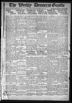 Primary view of object titled 'The Weekly Democrat-Gazette (McKinney, Tex.), Vol. 37, Ed. 1 Thursday, December 30, 1920'.