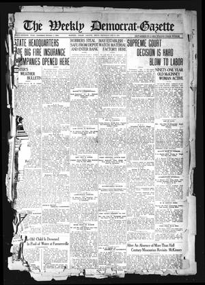 The Weekly Democrat-Gazette (McKinney, Tex.), Vol. 37, Ed. 1 Thursday, January 6, 1921