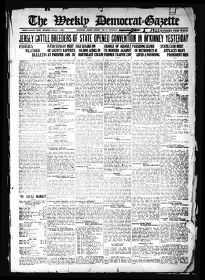 Primary view of object titled 'The Weekly Democrat-Gazette (McKinney, Tex.), Vol. 38, Ed. 1 Thursday, January 5, 1922'.