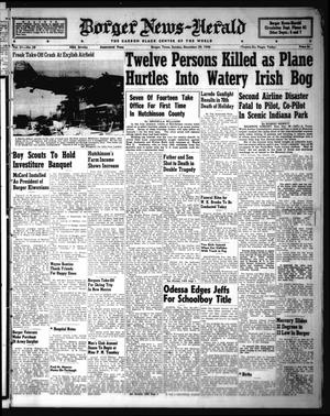 Primary view of object titled 'Borger-News Herald (Borger, Tex.), Vol. 21, No. 28, Ed. 1 Sunday, December 29, 1946'.