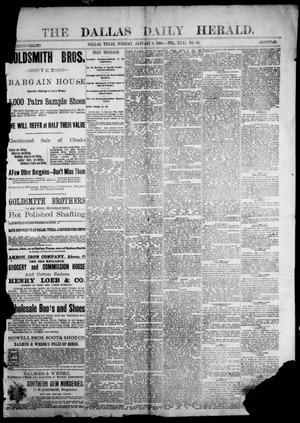 Primary view of The Dallas Herald. (Dallas, Tex.), Vol. 31, No. 65, Ed. 1 Tuesday, January 8, 1884