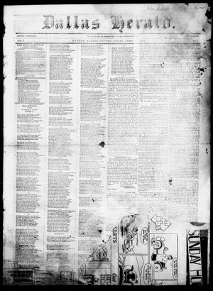 Dallas Herald. (Dallas, Tex.), Vol. 5, No. 3, Ed. 1 Saturday, June 7, 1856