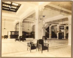 Primary view of object titled '[The Crazy Hotel Lobby]'.